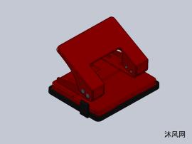 办公室打孔机模型