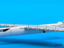 大型运输机模型设计图