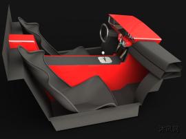 汽车驾驶室(室内)设计模型