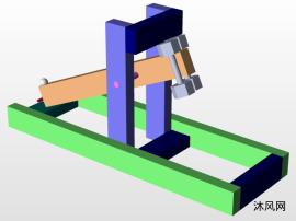 小型弹射器三维模型