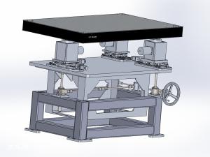 电动餐桌模型