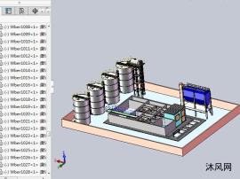 廢水處理廠模型設計