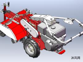 農機中耕機模型設計