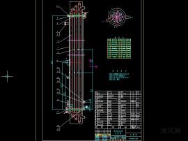 全套列管杀菌器技术图纸