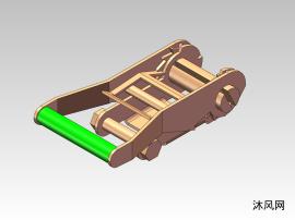 木制棘輪扣裝置