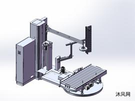 单产品缠膜机