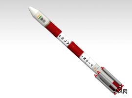 运载火箭CATIA 模型