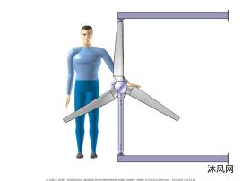风力发电机sw模型