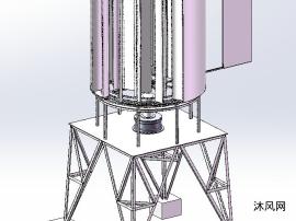 风力发电机模型图