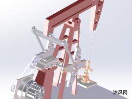 抽油機(磕頭機)模型