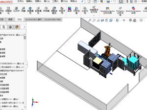 纸箱码垛自动生产线设计方案