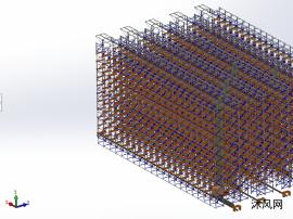 大型立体仓库模型