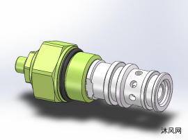泄压阀减压阀工业模型