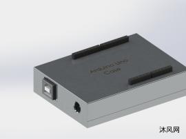 铝材质的单片机控制外壳设计模子