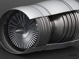 涡轮喷气发动机设计模型图