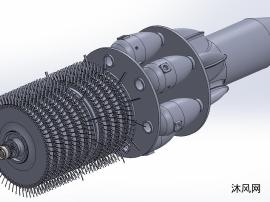 涡扇发动机模型