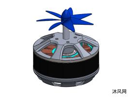 小型风力发电机模型