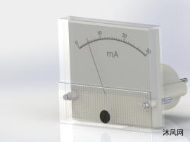 模拟电流表模型