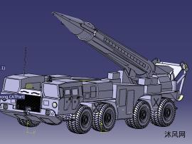 catiaV5R24版本飞毛腿导弹发射车