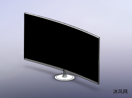 曲屏電視機