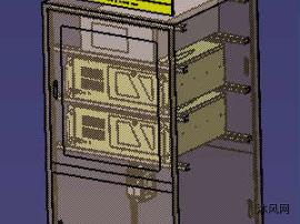 电气柜模型