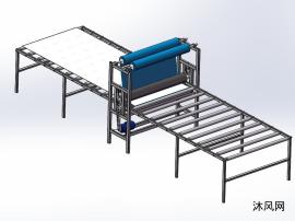 板材自动贴膜机设计图板