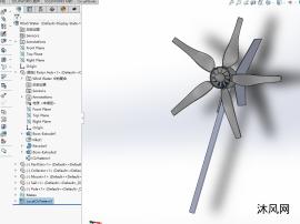 风力发电机设计图模型