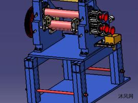 橡胶三轴压延机