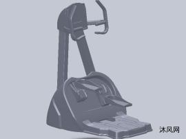 踏板式跑步机设计模型