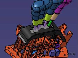 汽车换挡器(AT)整套模型