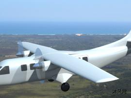 私人商务飞机模型