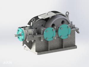 二级圆锥-圆柱齿轮减速器设计(原创)