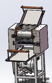 压面机sw设计模型
