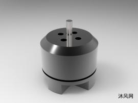 微型无刷电机模型