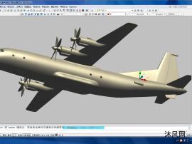 中国运9运输机AUTOCAD模型文件