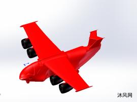 概念飞机模型建模