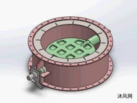 溢流阀瓣设计模型