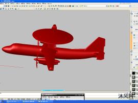 舰载预警机三维网格AUTOCAD模型文件