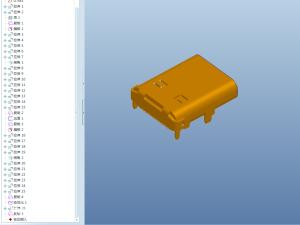 USB Type-C接口模型