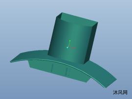 油烟机智能罩三维模型