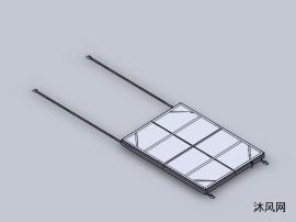 移动小轨道滑板车设计模型