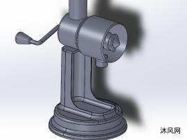 手動榨汁機設計模型