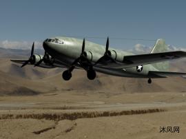 美国波音公司75重型运输机AUTOCAD模型文件