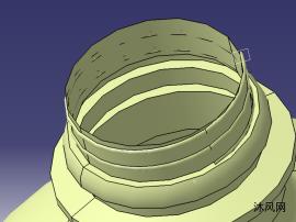 螺旋曲面的水瓶模型
