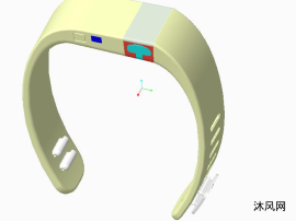 IP67防水智能穿戴手环结构
