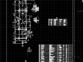 冷却塔CAD图纸