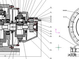 风力发电机传动机构增速器的设计