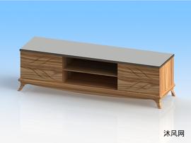 木制长方电视柜