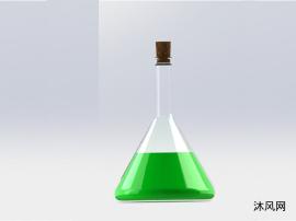 化学烧杯模型