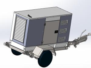 30kw移動式拖車